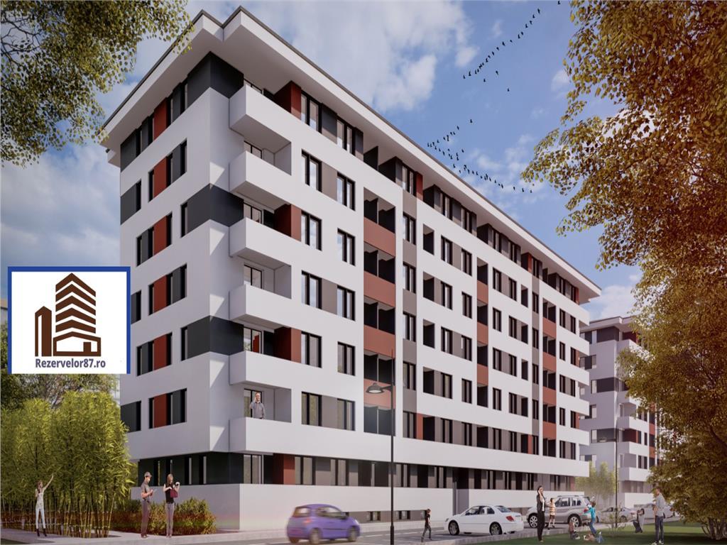 Garsoniera 30 mp, bucatarie inchisa, balcon  Direct Dezvoltator